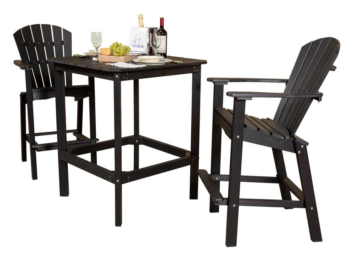 Panama Outdoor Bar Set with 42 Inch Table