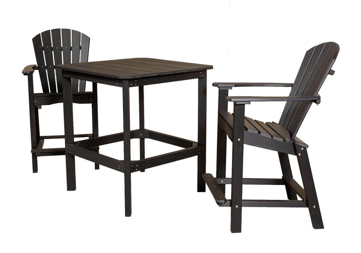 Panama Outdoor Bar Set with 38 Inch Table