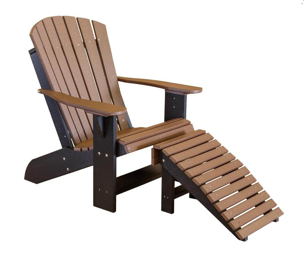 Sidra Adirondack Chair with Leg Rest