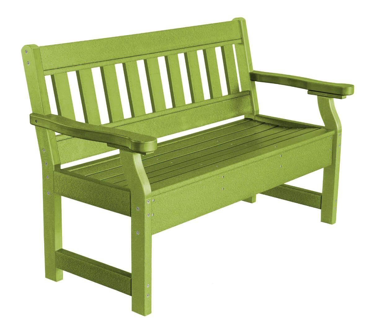 Lime Green Aden Garden Bench