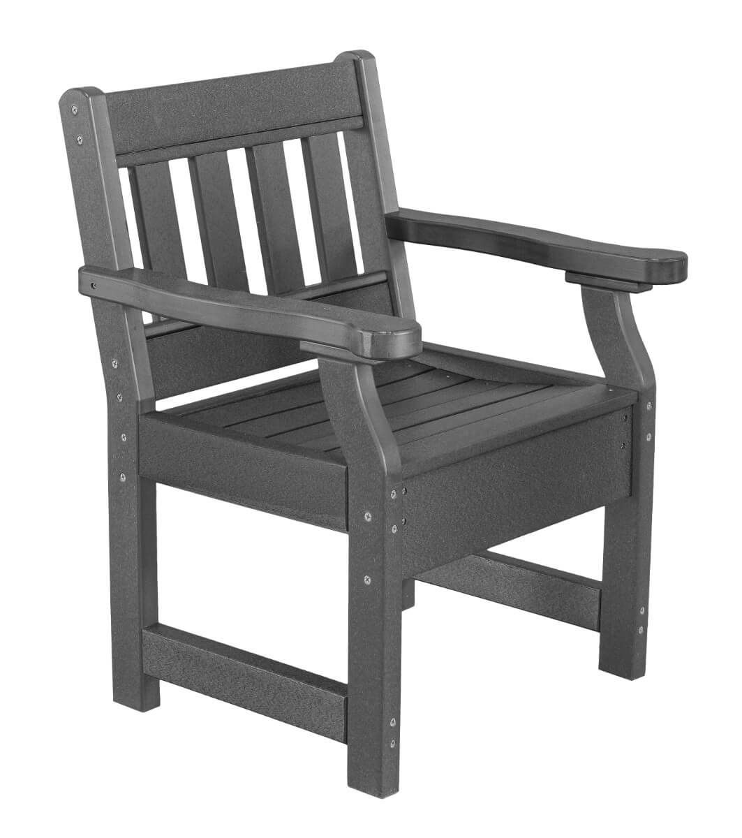 Dark Gray Aden Patio Chair