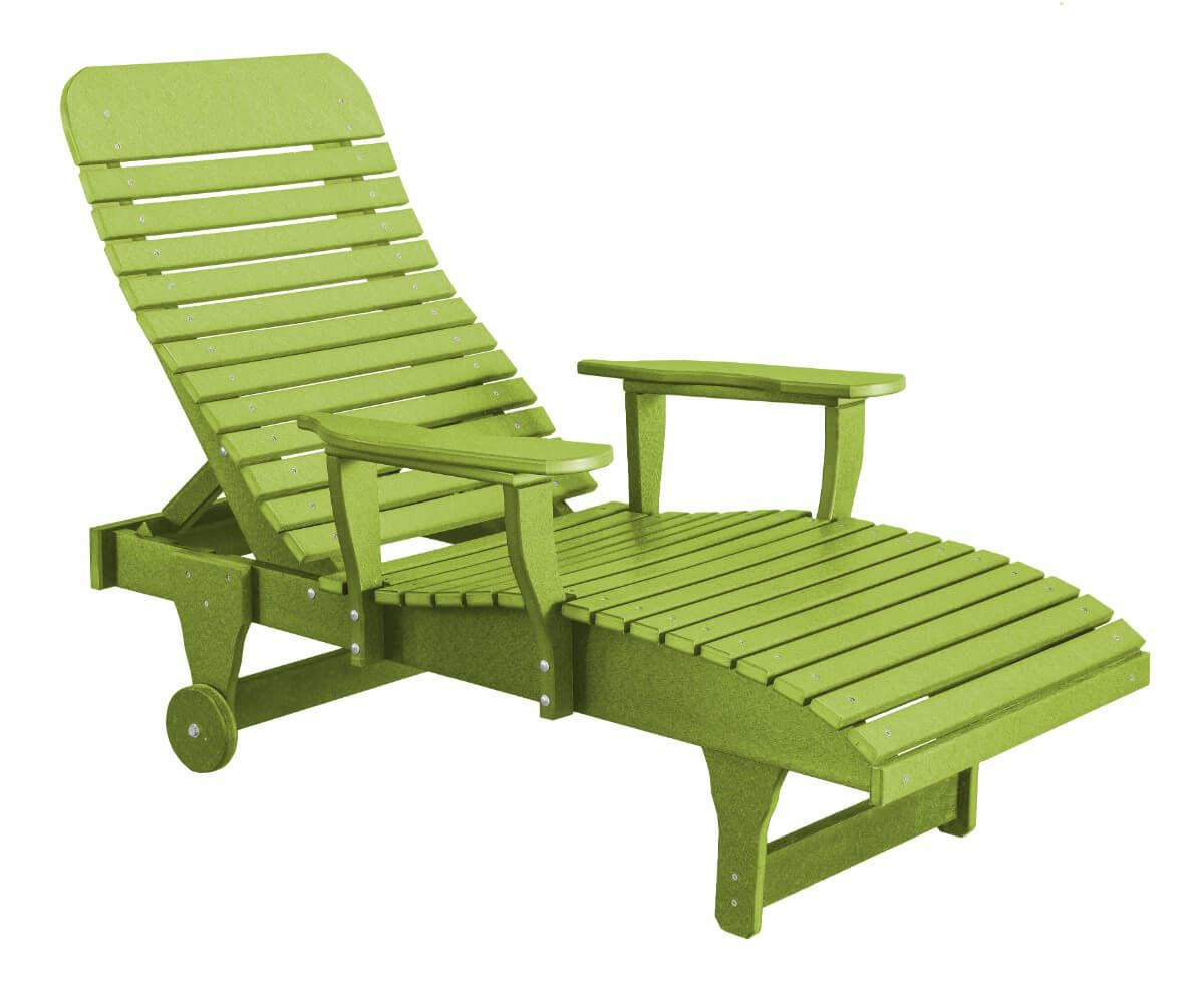 Lime Green Andaman Outdoor Chaise Lounge