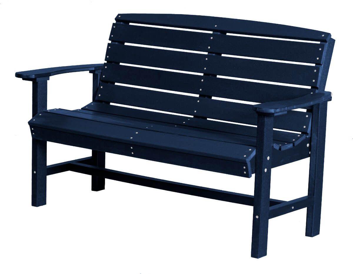 Patriot Blue Green Bay Outdoor Bench