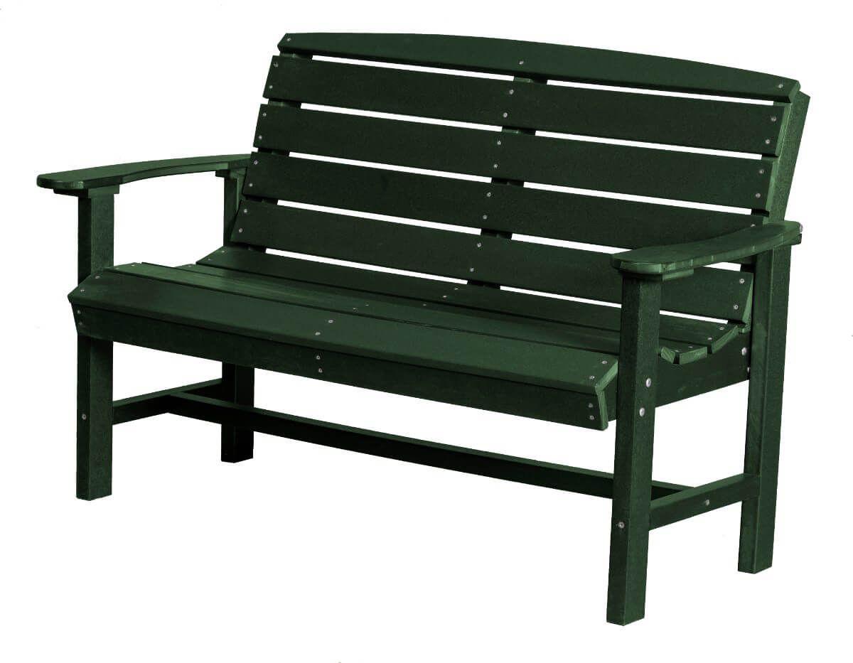 Turf Green Green Bay Outdoor Bench