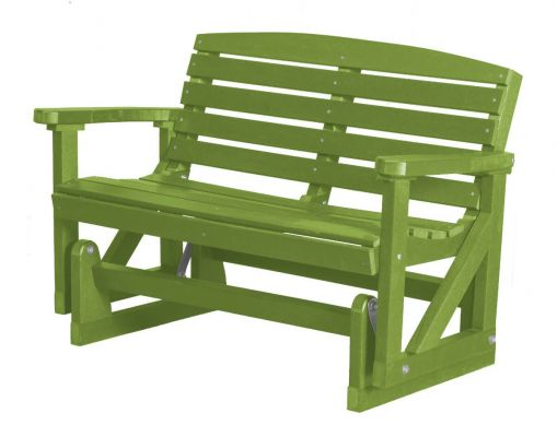Lime Green Green Bay Outdoor Double Glider