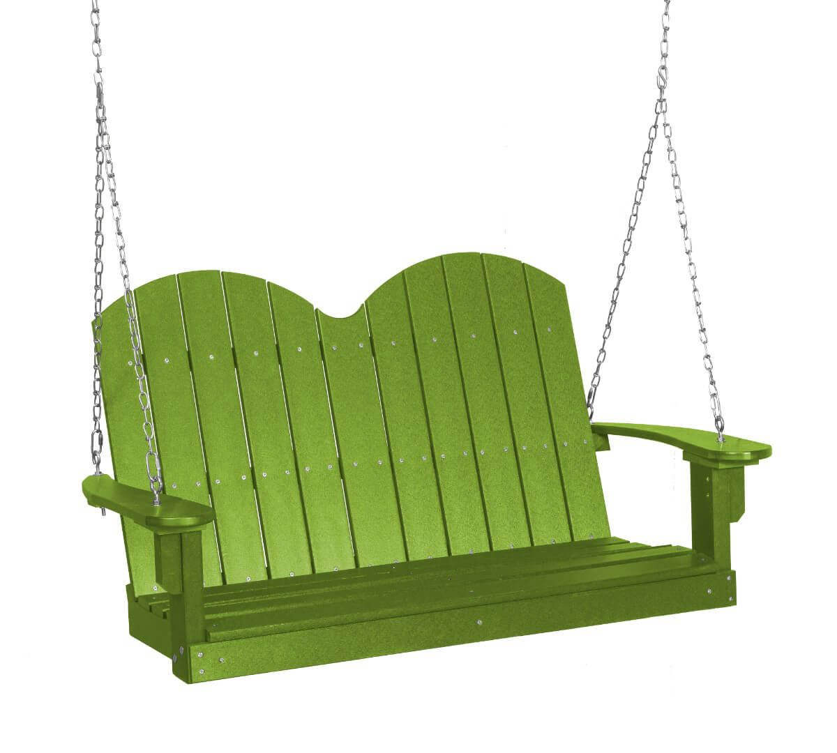 Lime Green Green Bay Outdoor Swing