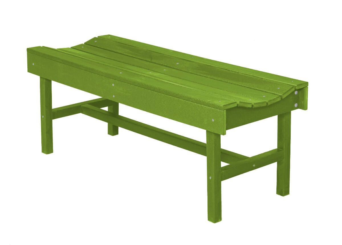 Lime Green Green Bay Park Bench