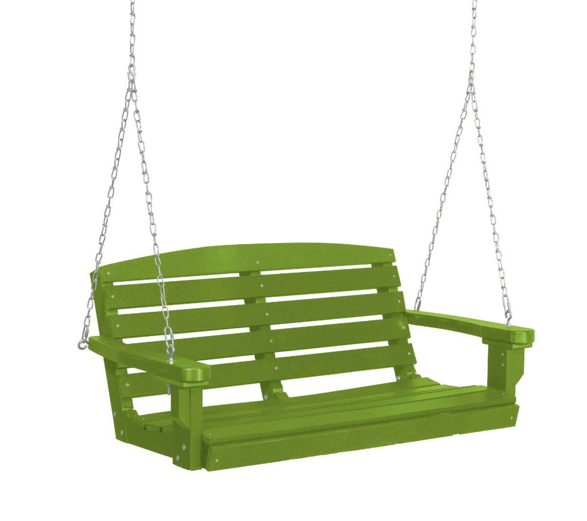 Lime Green Green Bay Porch Swing