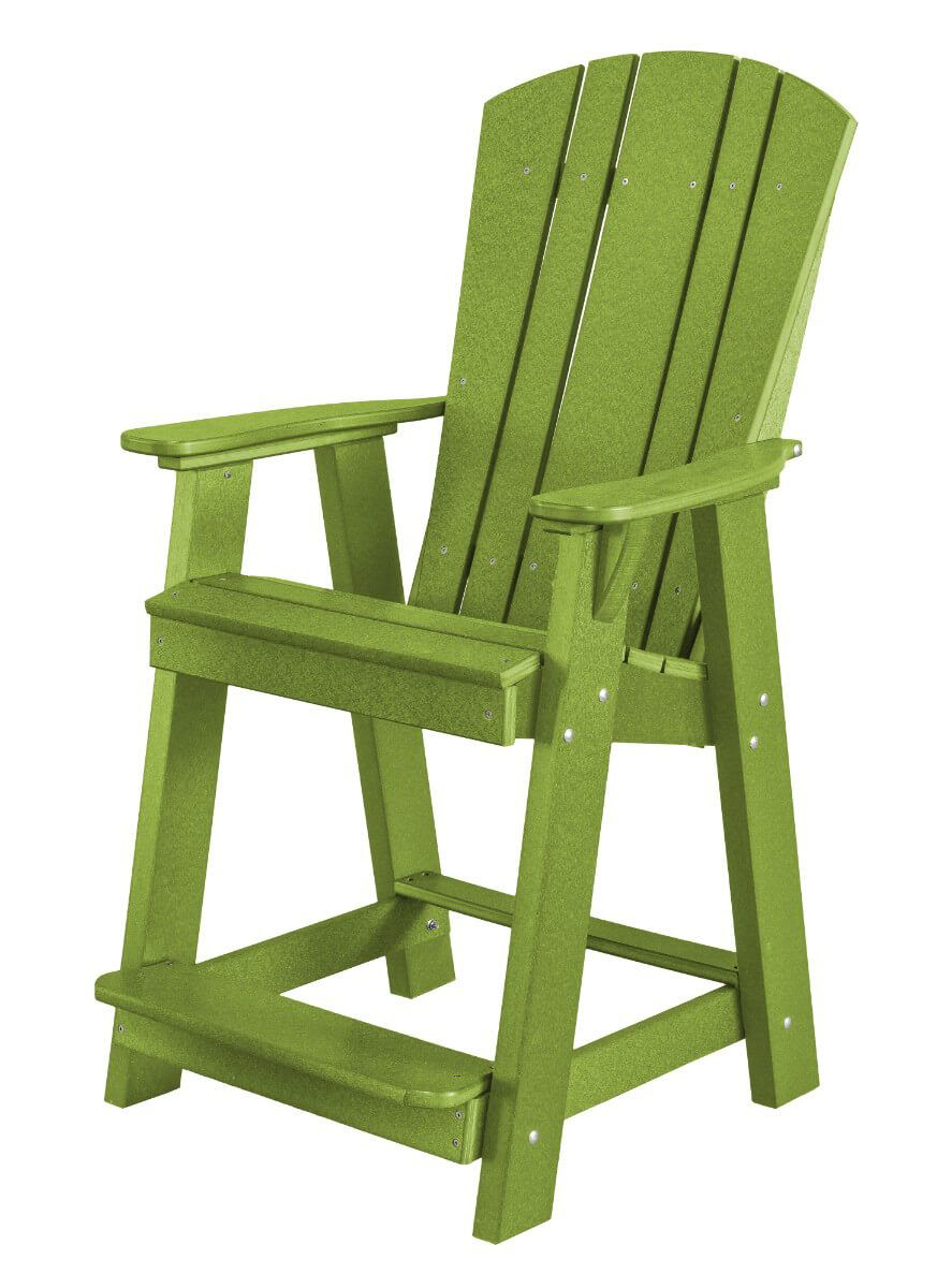 Lime Green Oristano Balcony Chair