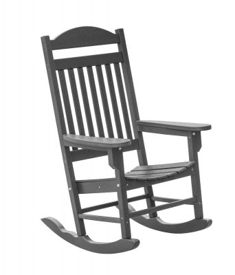 Dark Gray Santorini Outdoor Rocker