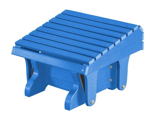 Blue Sidra Outdoor Gliding Footrest
