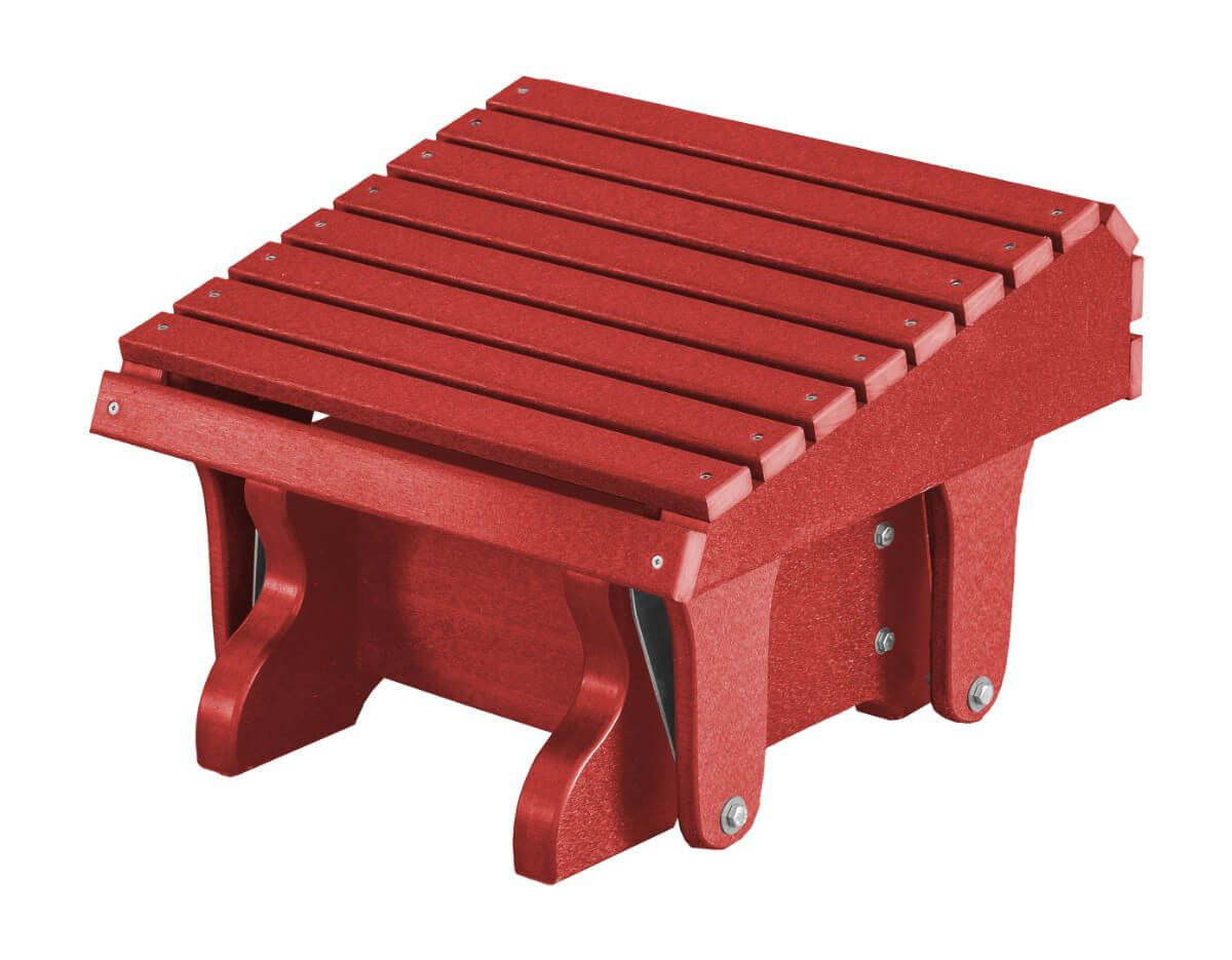 Cardinal Red Sidra Outdoor Gliding Footrest