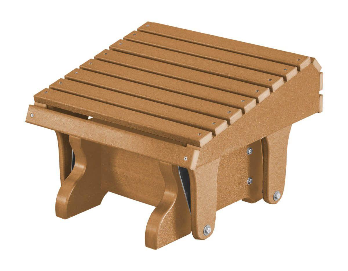 Cedar Sidra Outdoor Gliding Footrest