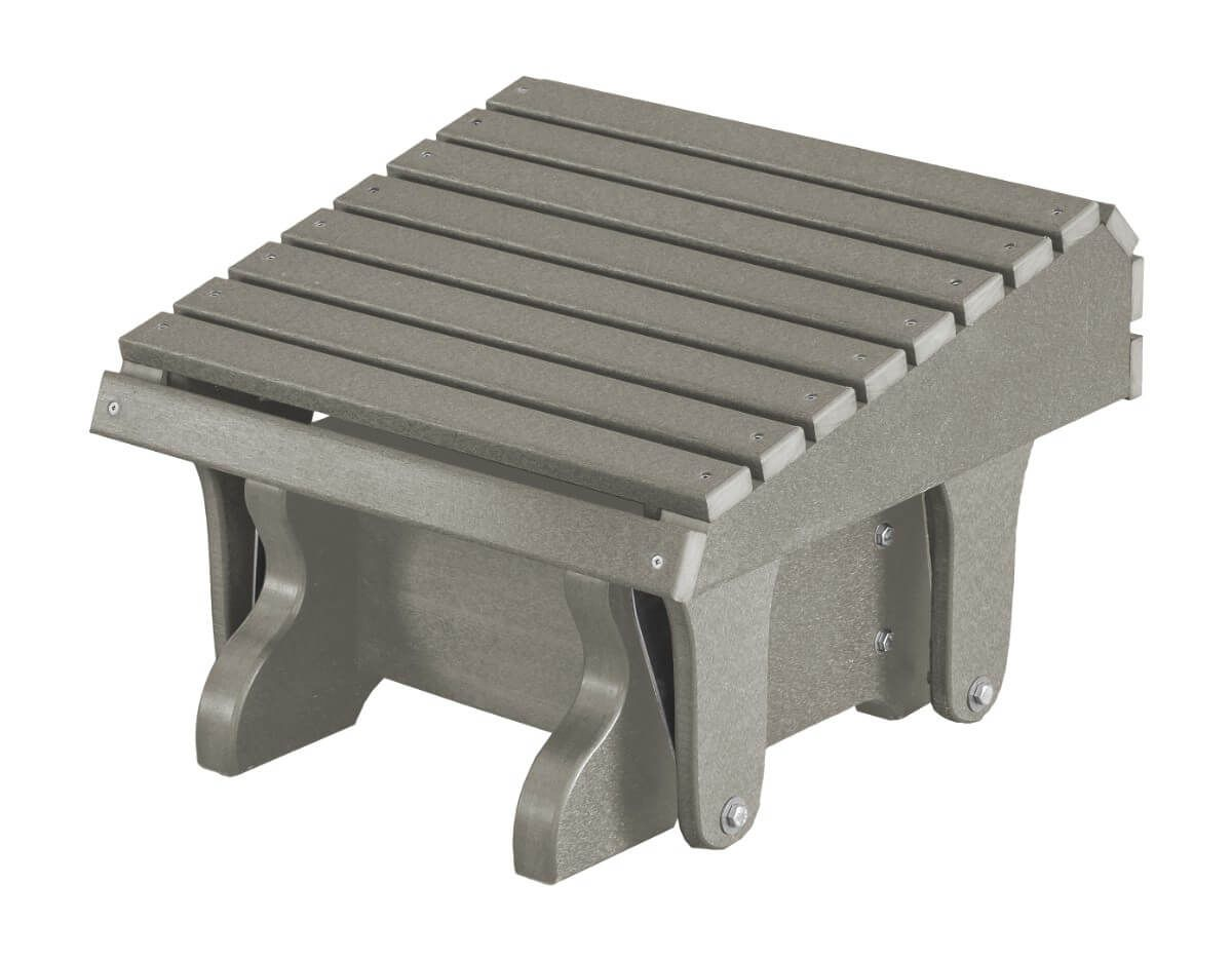 Light Gray Sidra Outdoor Gliding Footrest
