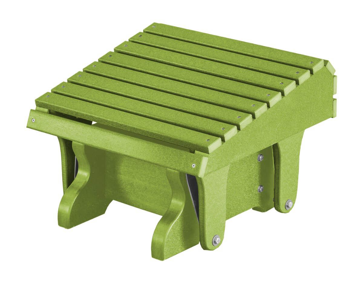 Lime Green Sidra Outdoor Gliding Footrest