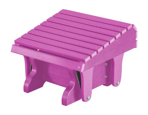 Purple Sidra Outdoor Gliding Footrest