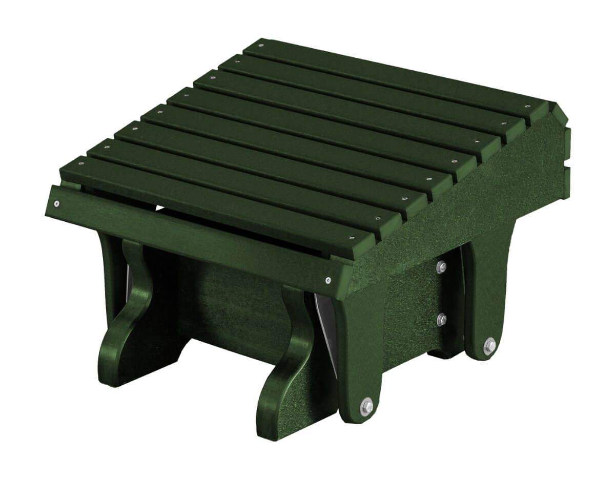 Turf Green Sidra Outdoor Gliding Footrest
