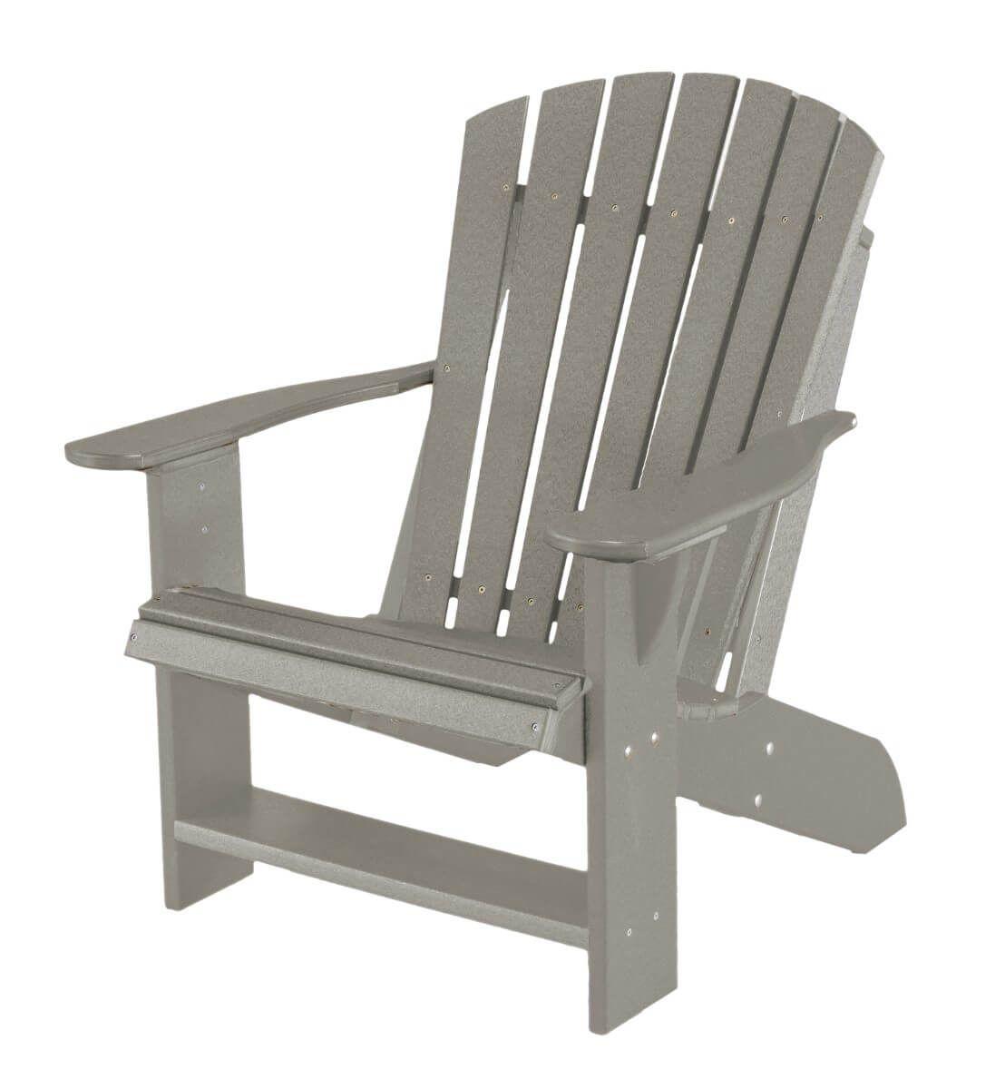 Light Gray Sidra Adirondack Chair