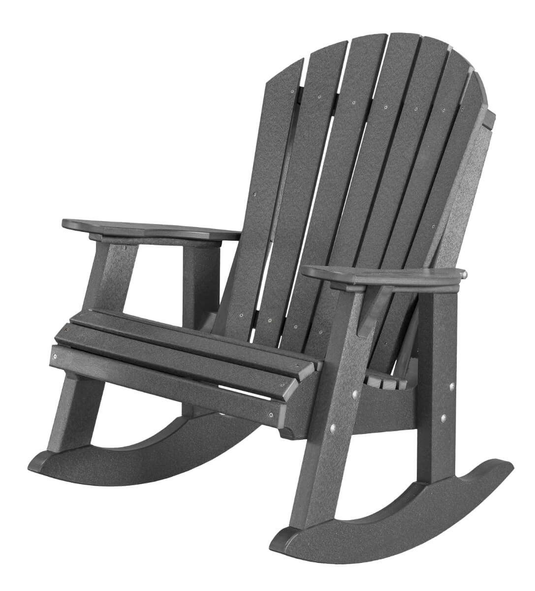 Dark Gray Sidra Adirondack Rocker