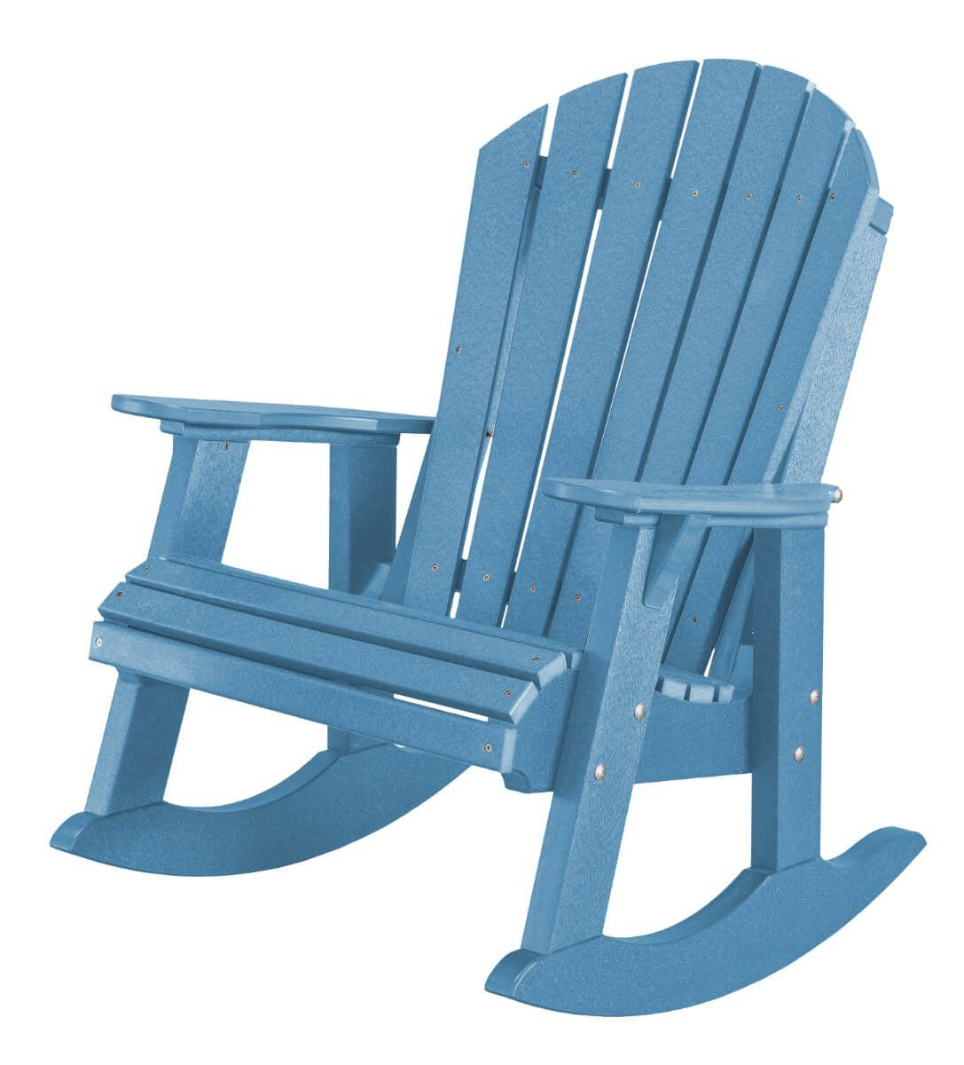 Powder Blue Sidra Adirondack Rocker