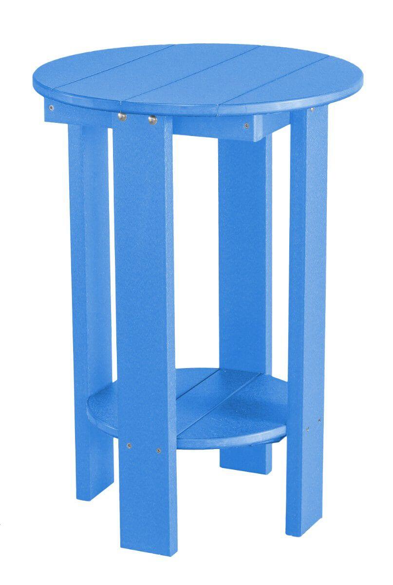 Blue Sidra Balcony Table