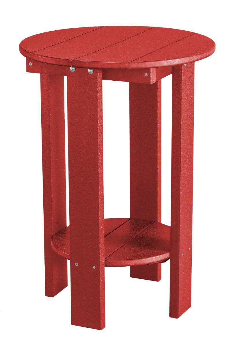 Cardinal Red Sidra Balcony Table