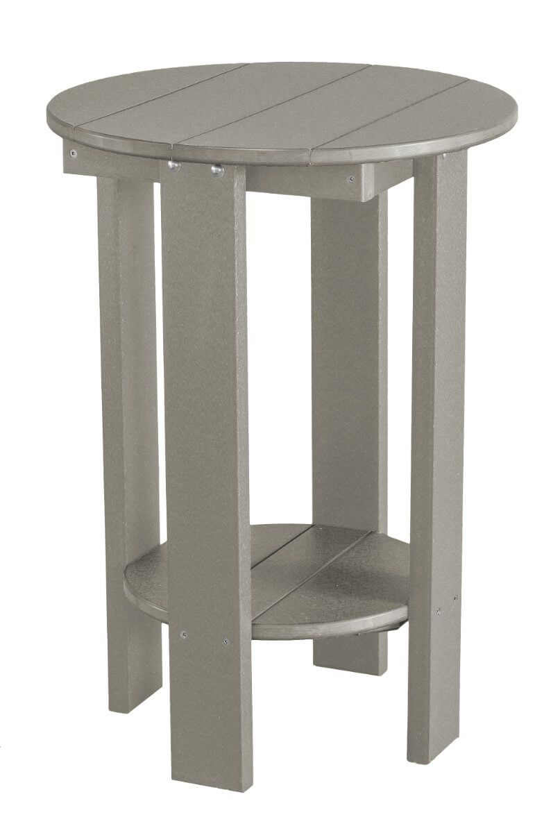 Light Gray Sidra Balcony Table