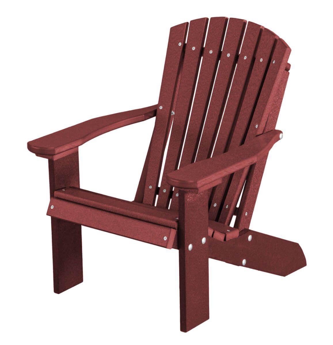 Cherry Wood Sidra Child's Adirondack Chair