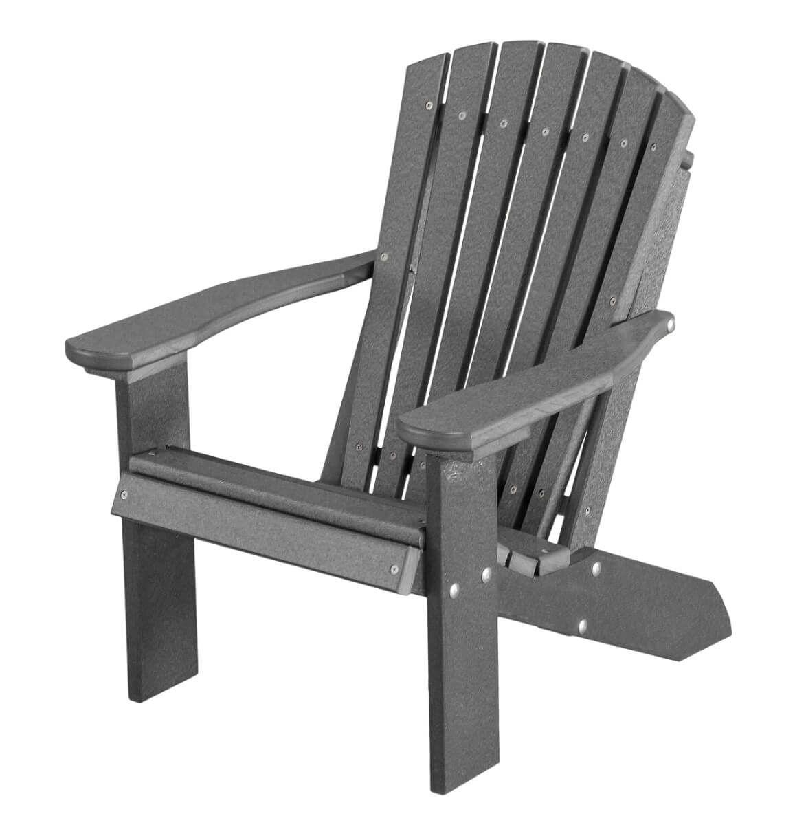 Dark Gray Sidra Child's Adirondack Chair
