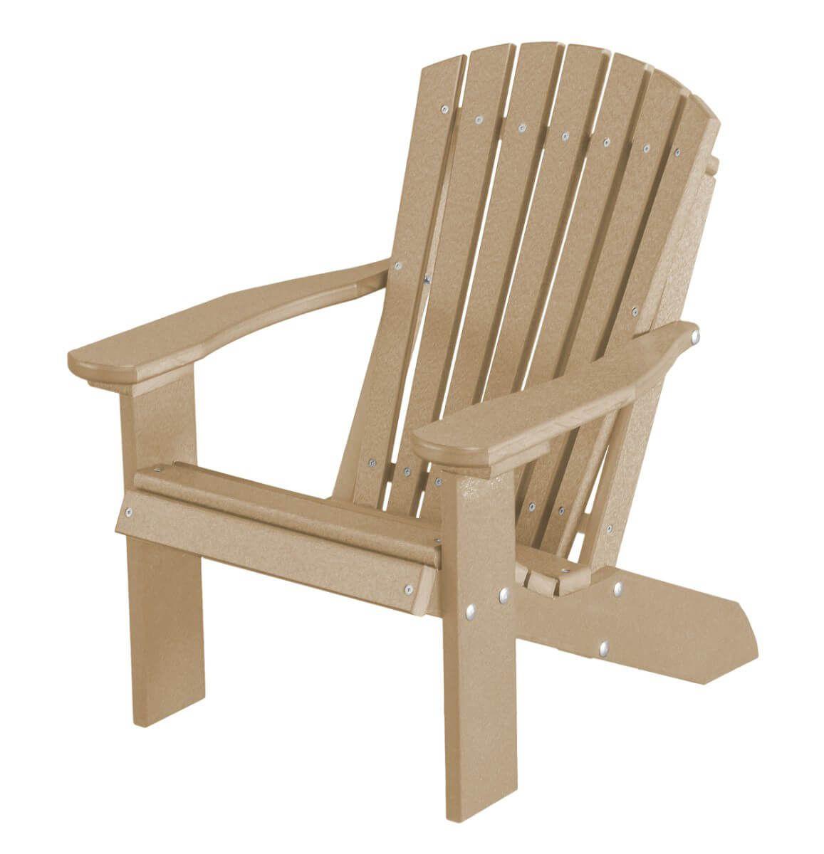 Weathered Wood Sidra Child's Adirondack Chair