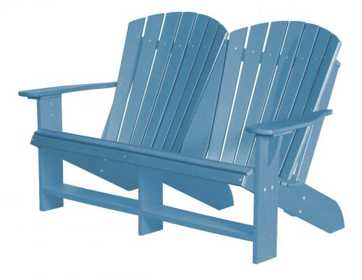 Powder Blue Sidra Double Adirondack