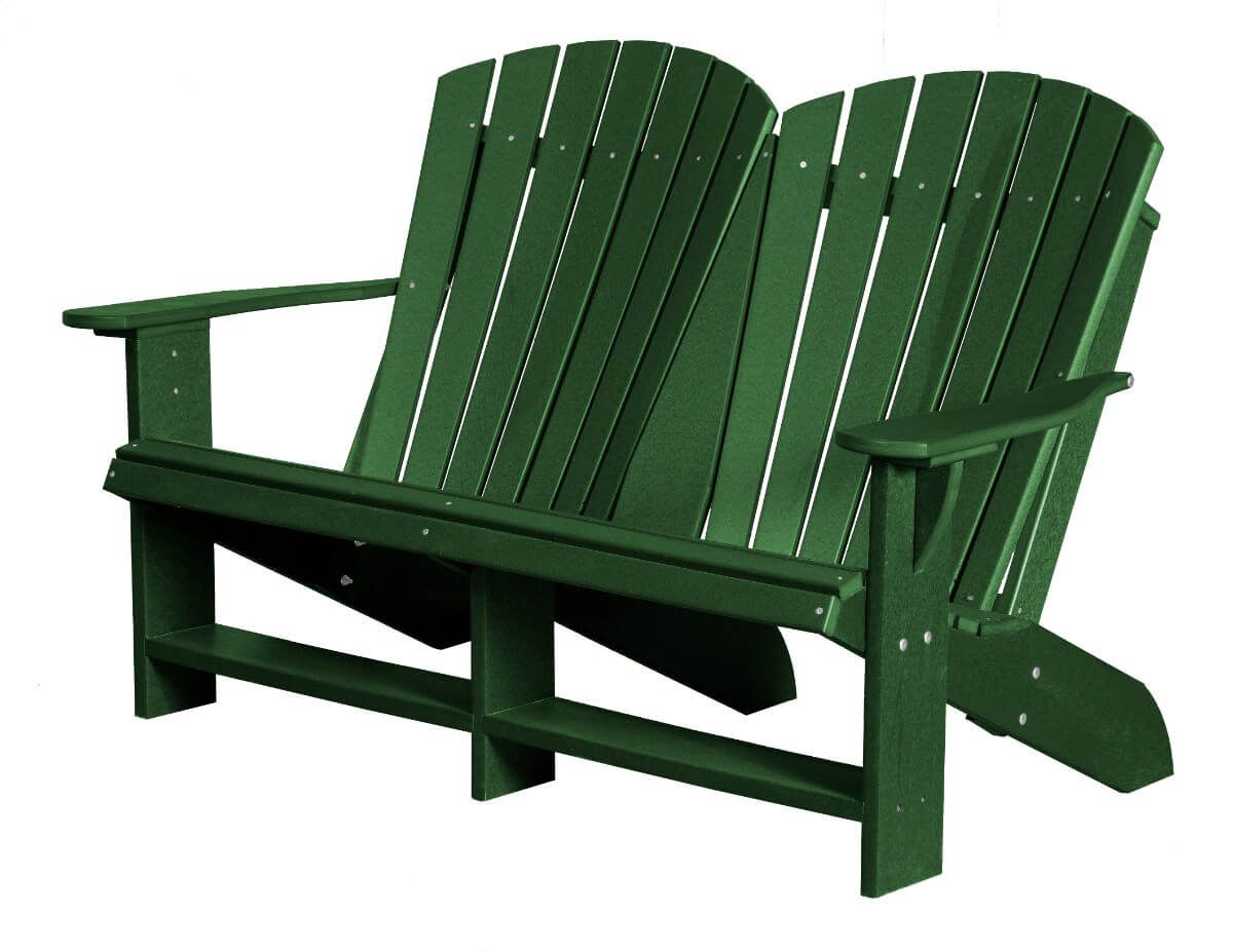 Turf Green Sidra Double Adirondack