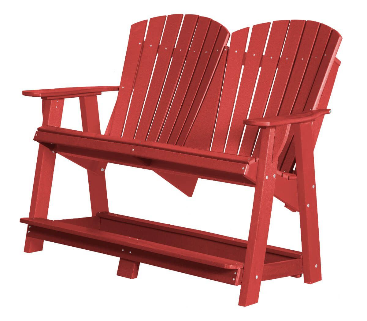 Cardinal Red Sidra Double High Adirondack