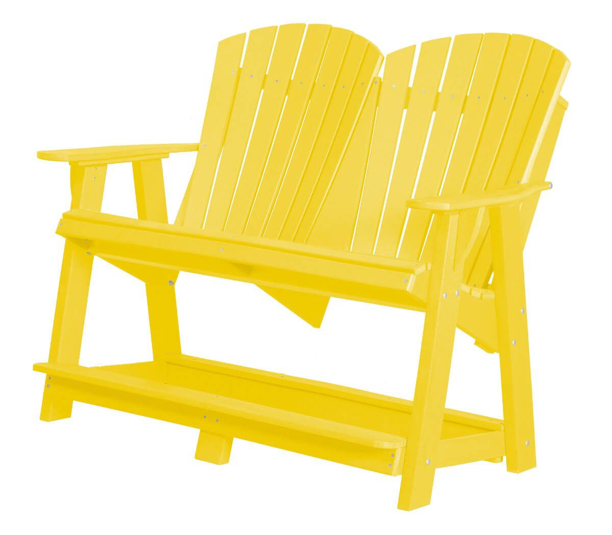 Lemon Yellow Sidra Double High Adirondack