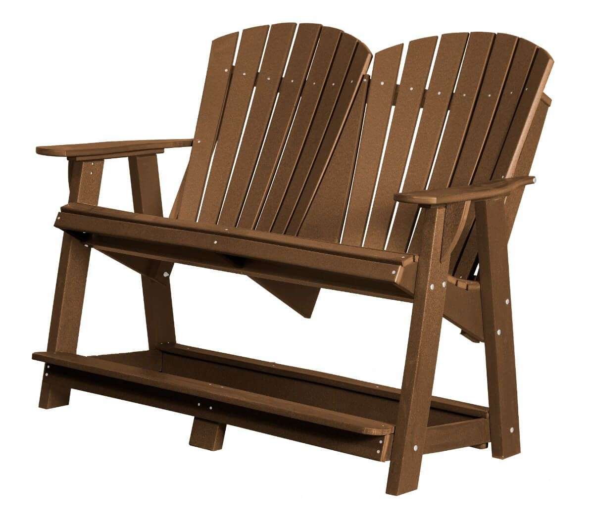 Tudor Brown Sidra Double High Adirondack