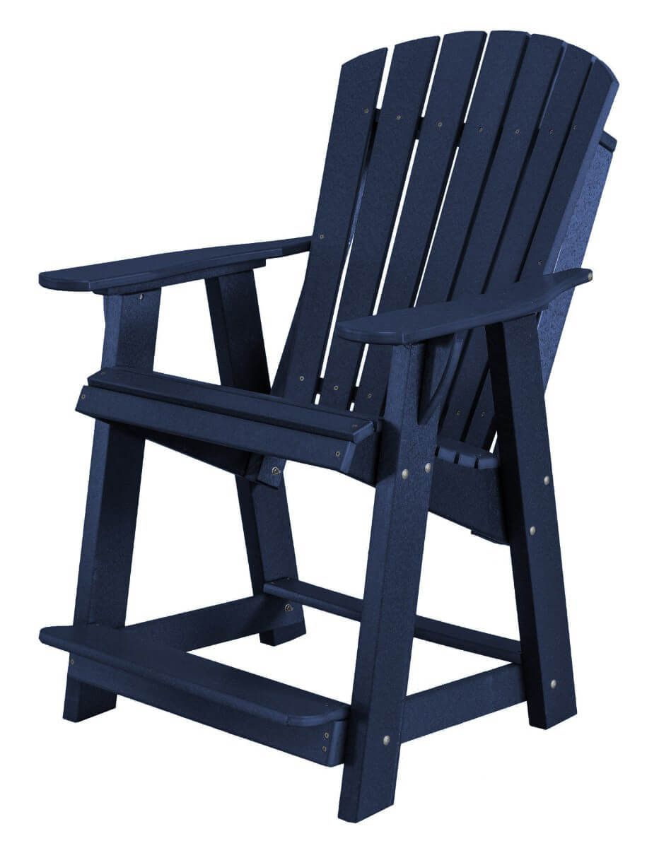 Patriot Blue Sidra High Adirondack Chair