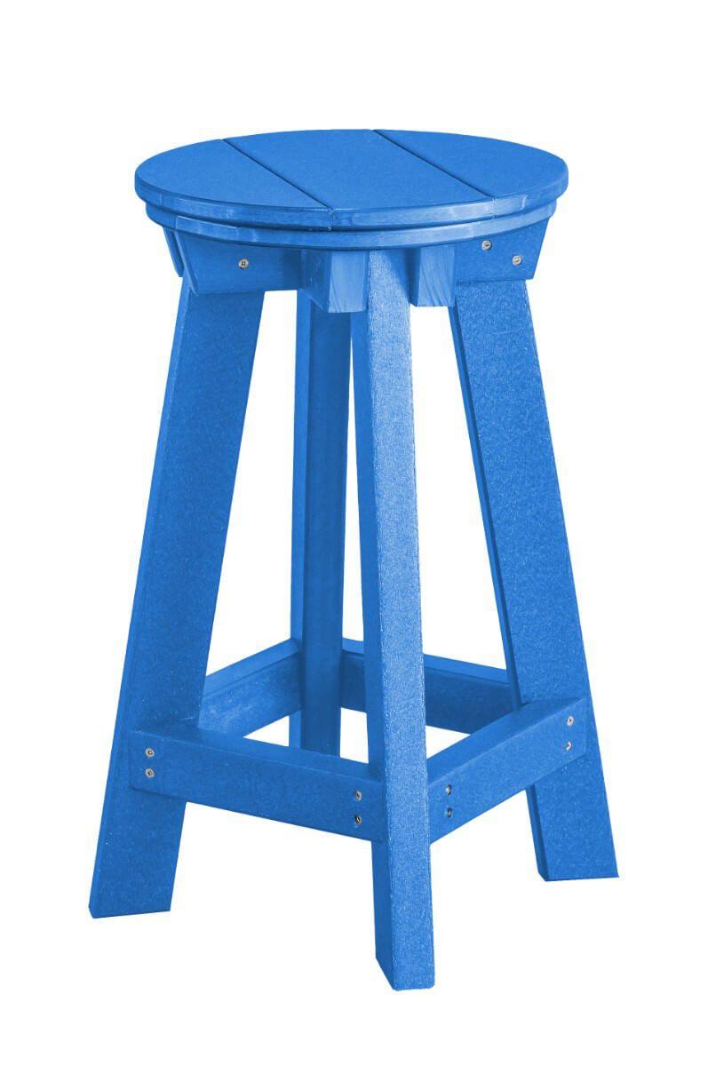 Blue Sidra Outdoor Bar Stool