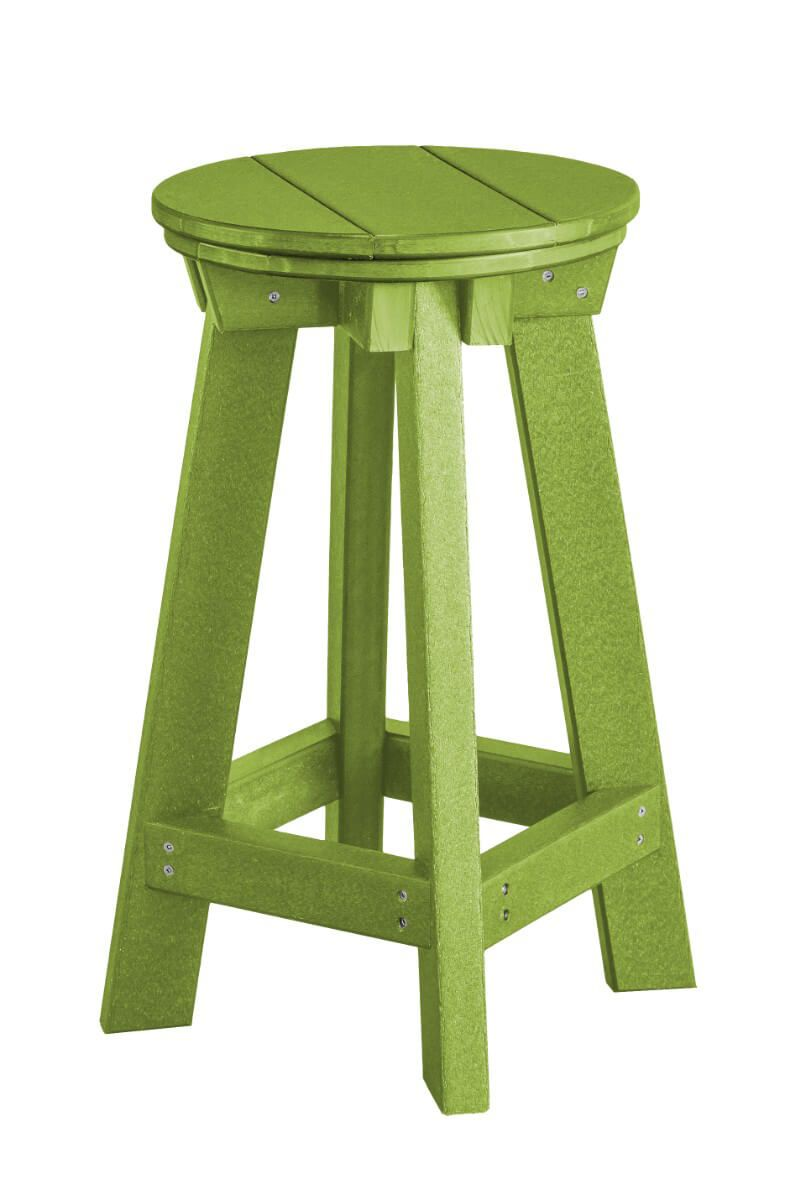 Lime Green Sidra Outdoor Bar Stool