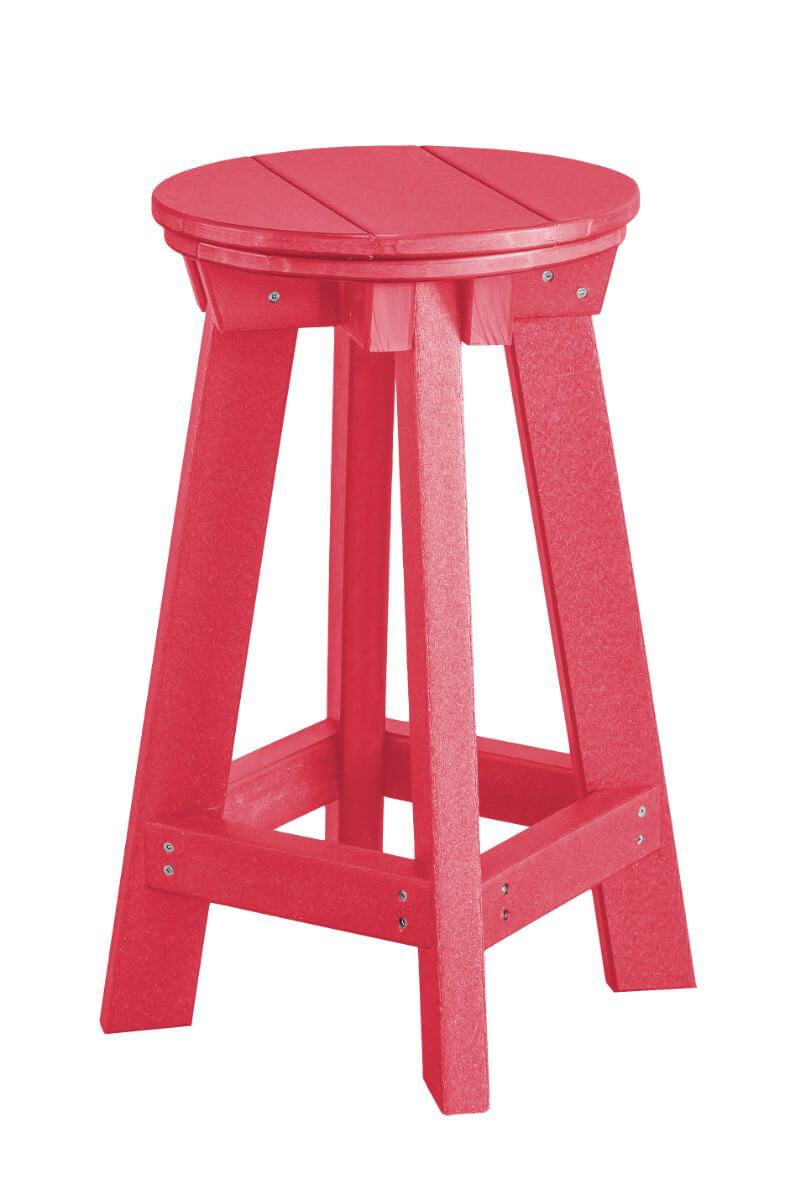 Pink Sidra Outdoor Bar Stool