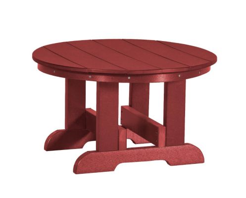 Cherry Wood Sidra Outdoor Conversation Table