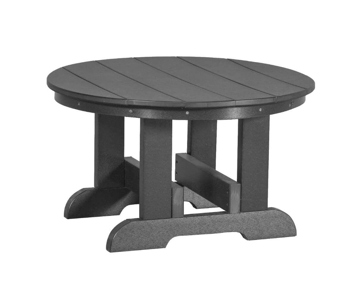 Dark Gray Sidra Outdoor Conversation Table