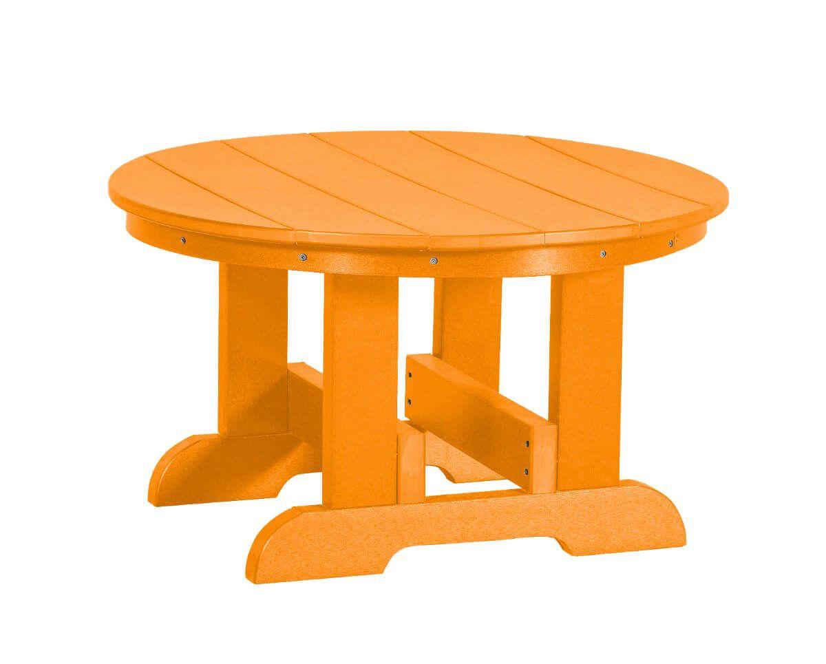 Orange Sidra Outdoor Conversation Table
