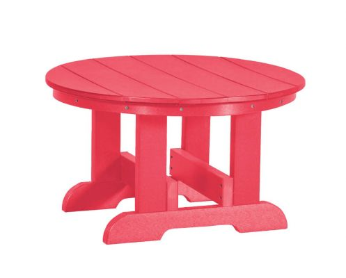 Pink Sidra Outdoor Conversation Table