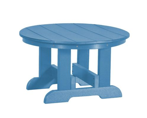 Powder Blue Sidra Outdoor Conversation Table