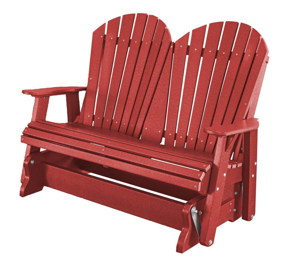 Cardinal Red Sidra Outdoor Double Glider