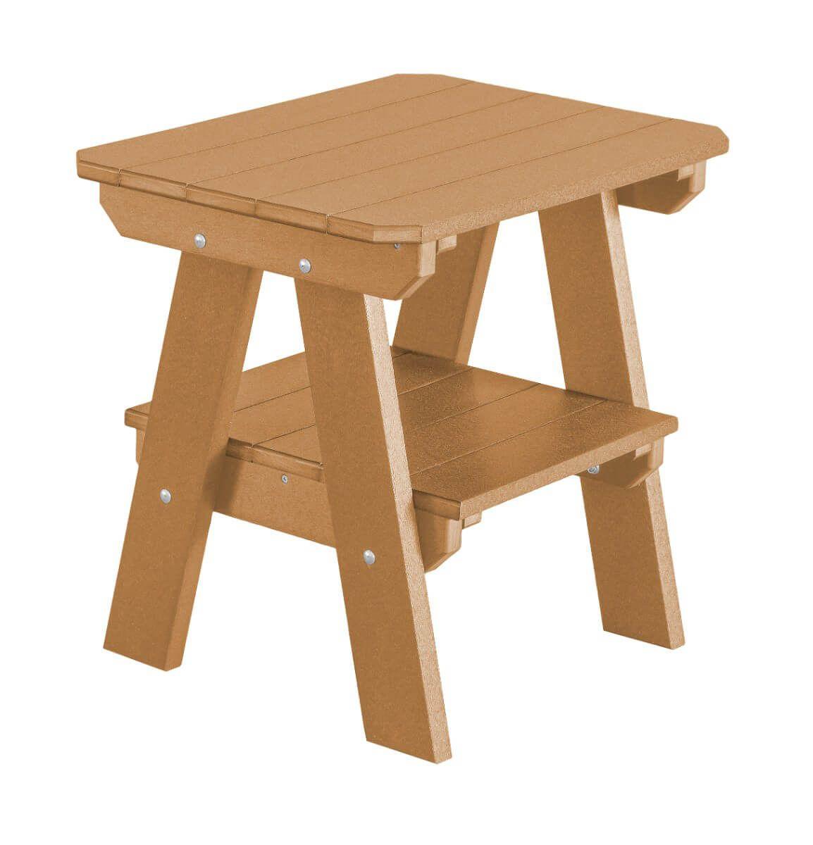 Cedar Sidra Outdoor End Table