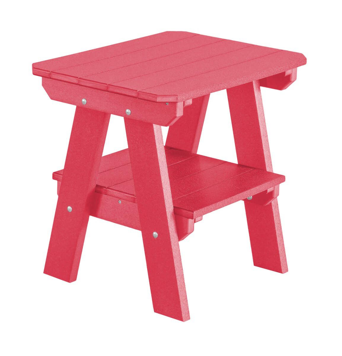 Pink Sidra Outdoor End Table