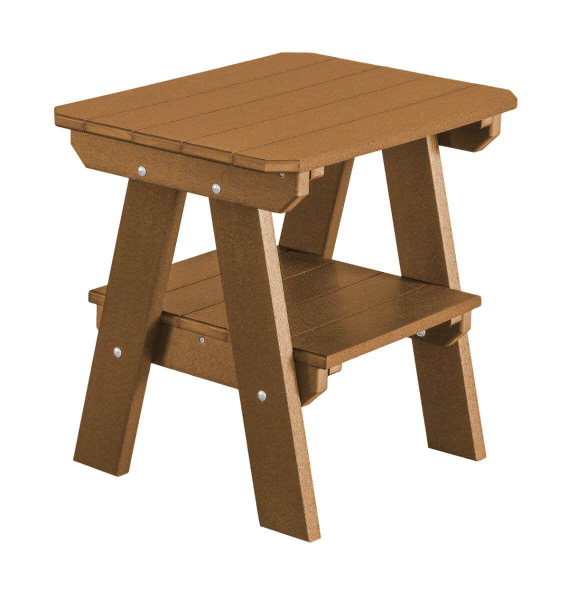 Tudor Brown Sidra Outdoor End Table
