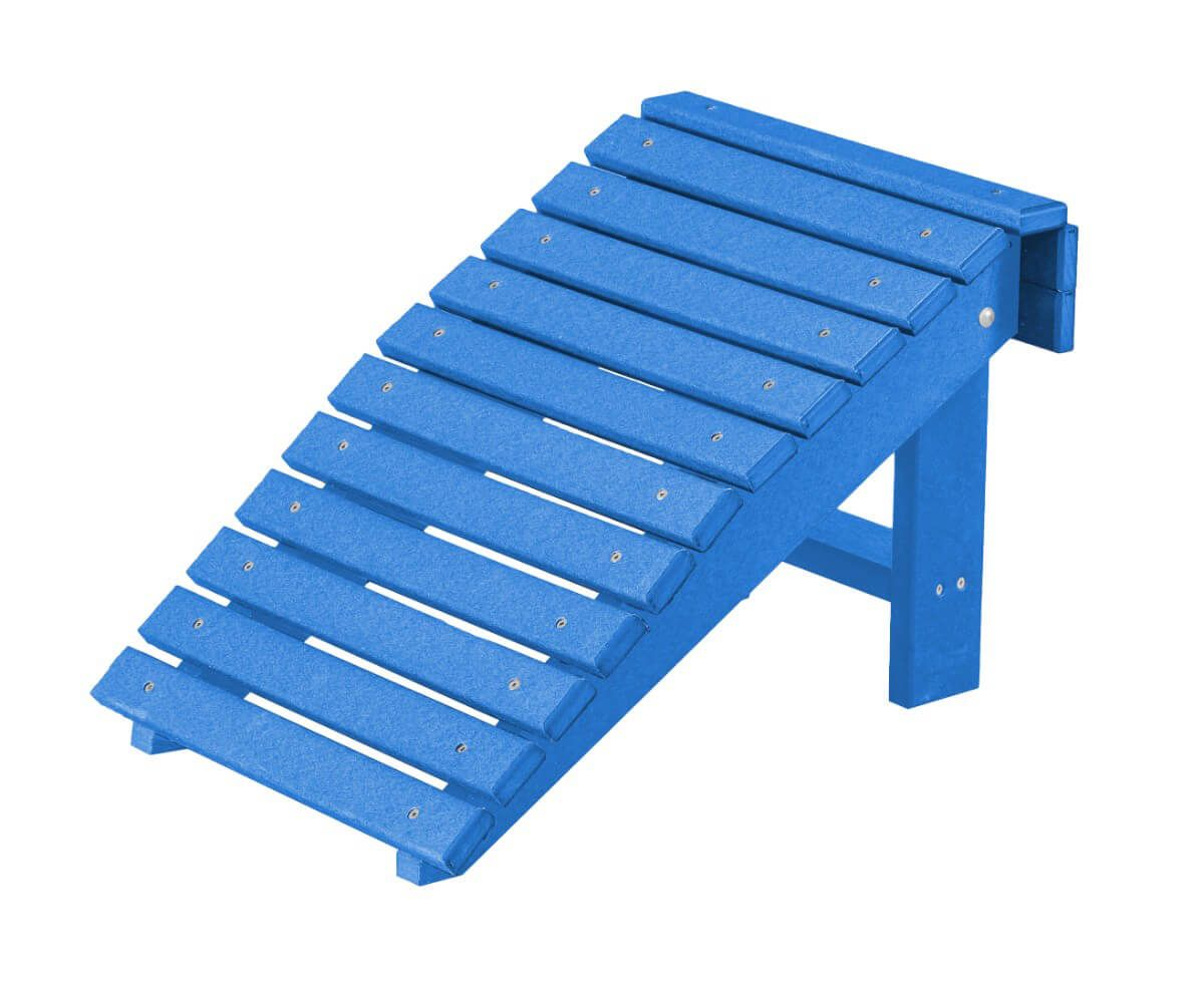 Blue Sidra Outdoor Folding Footstool