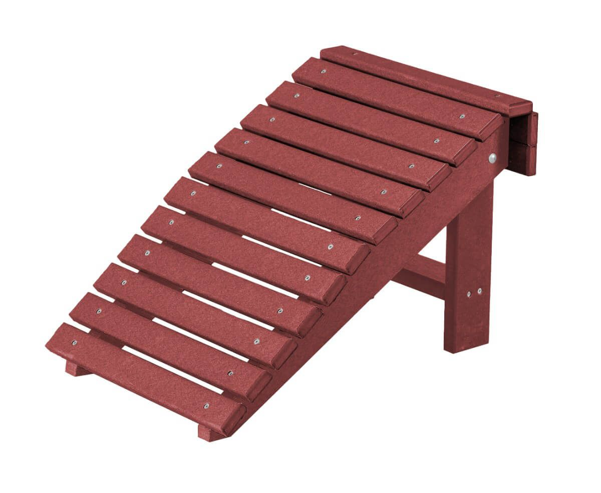 Cherry Wood Sidra Outdoor Folding Footstool